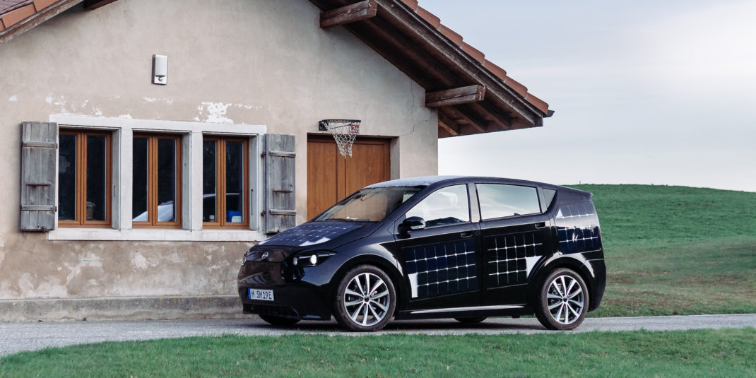 Nachhaltige Mobilität mit Elektroauto Sion