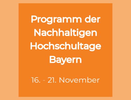 Nachhaltige Hochschultage Bayern